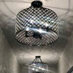 D Ave Custom Home hallway lights